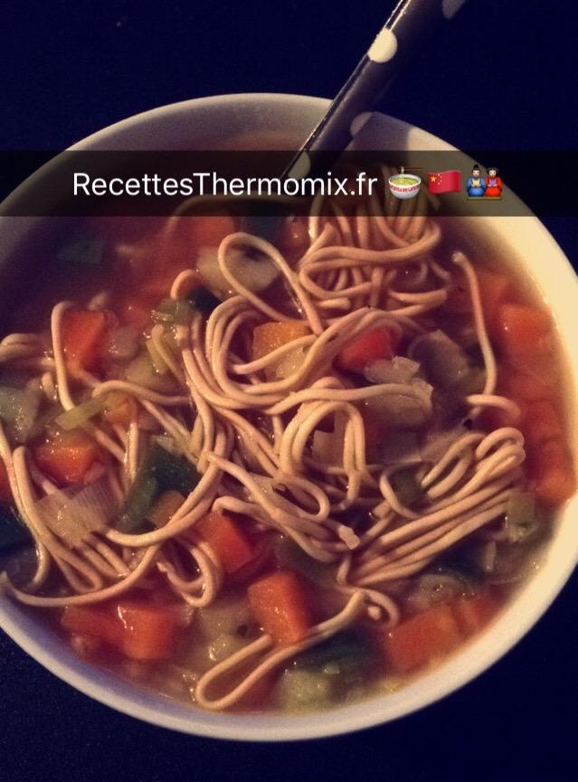 Soupe chinoise improvis e recettes thermomix - Recette soupe thermomix ...