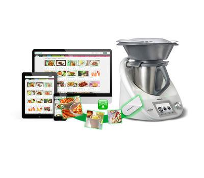 le cook key envoie vos recettes sur le thermomix en wifi. Black Bedroom Furniture Sets. Home Design Ideas